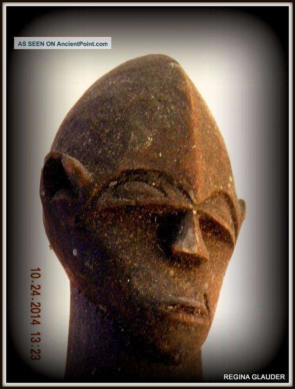 Rare Old Lobi Burkina Faso Shabby Chic Tribal Africa Ethnic Ancestral Great Sculptures & Statues photo