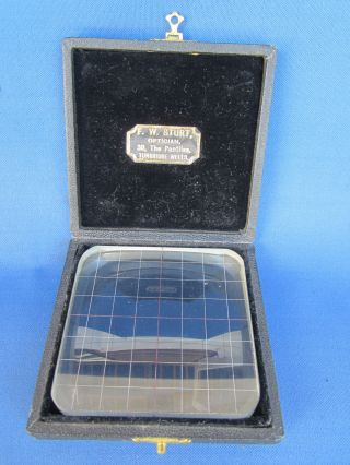Optical Sight Testing Opticians Glass Magnified Instrument ? photo