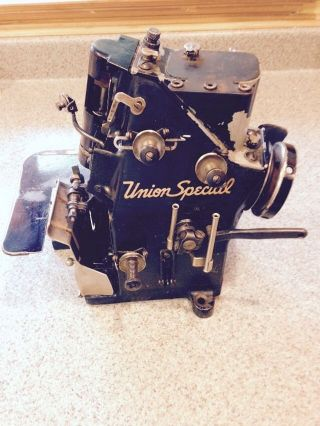 Union Special 39200 Ac Overlock / Serger Antique Industrial Sewing Machine photo