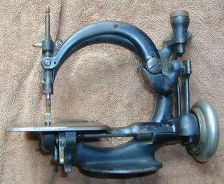 Antique Willcox & Gibbs Sewing Machine Patent 1871 - Bb photo