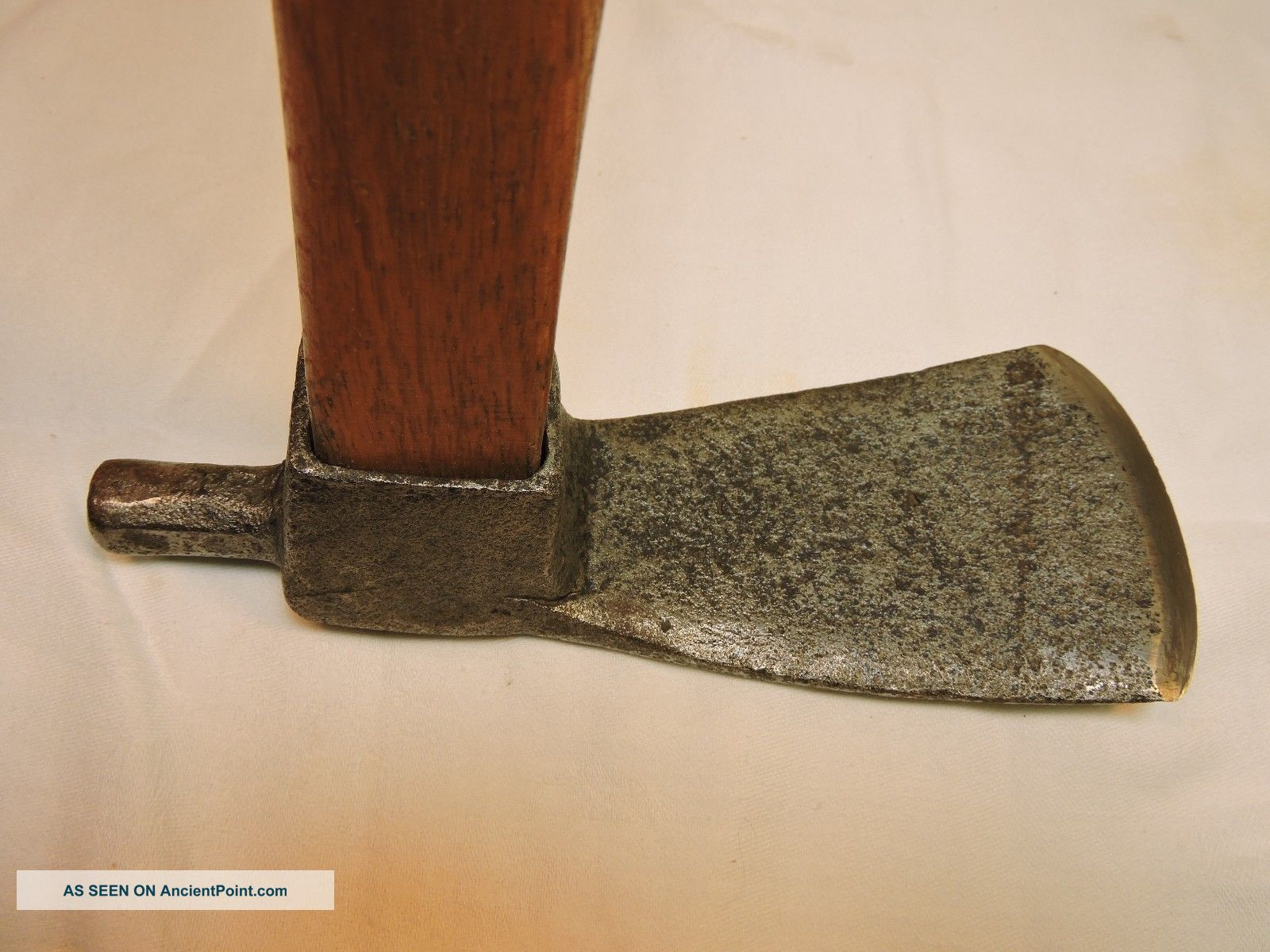 Ship/carpenter Adze W/handle,  Smithy Made,  Scotch Style. Other Maritime Antiques photo