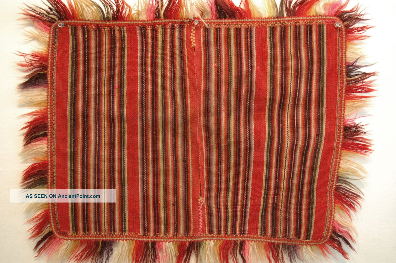 Child Poncho South American Weaving Aymara Peru Bolivia Chile Native Art Latin American photo
