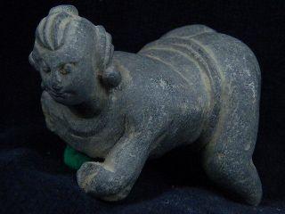 Ancient Stone Figure Gandhara/gandharan 100 Ad S4873 photo