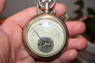 Antique Western Electric At&t Dry Cell Battery Tester Steampunk photo