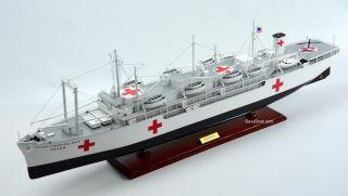 Usns Haven Ah - 12 Hospital Ship 40