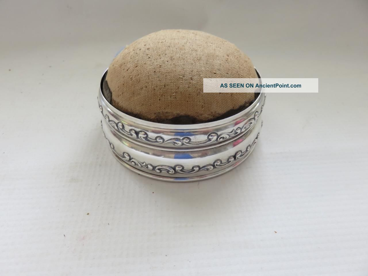 Antique Gorham Sterling Silver Pin Cushion Other photo