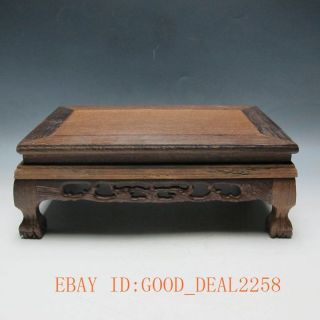 Old Handwork Wood Carved Of Appreciation Tables Statue/9 photo
