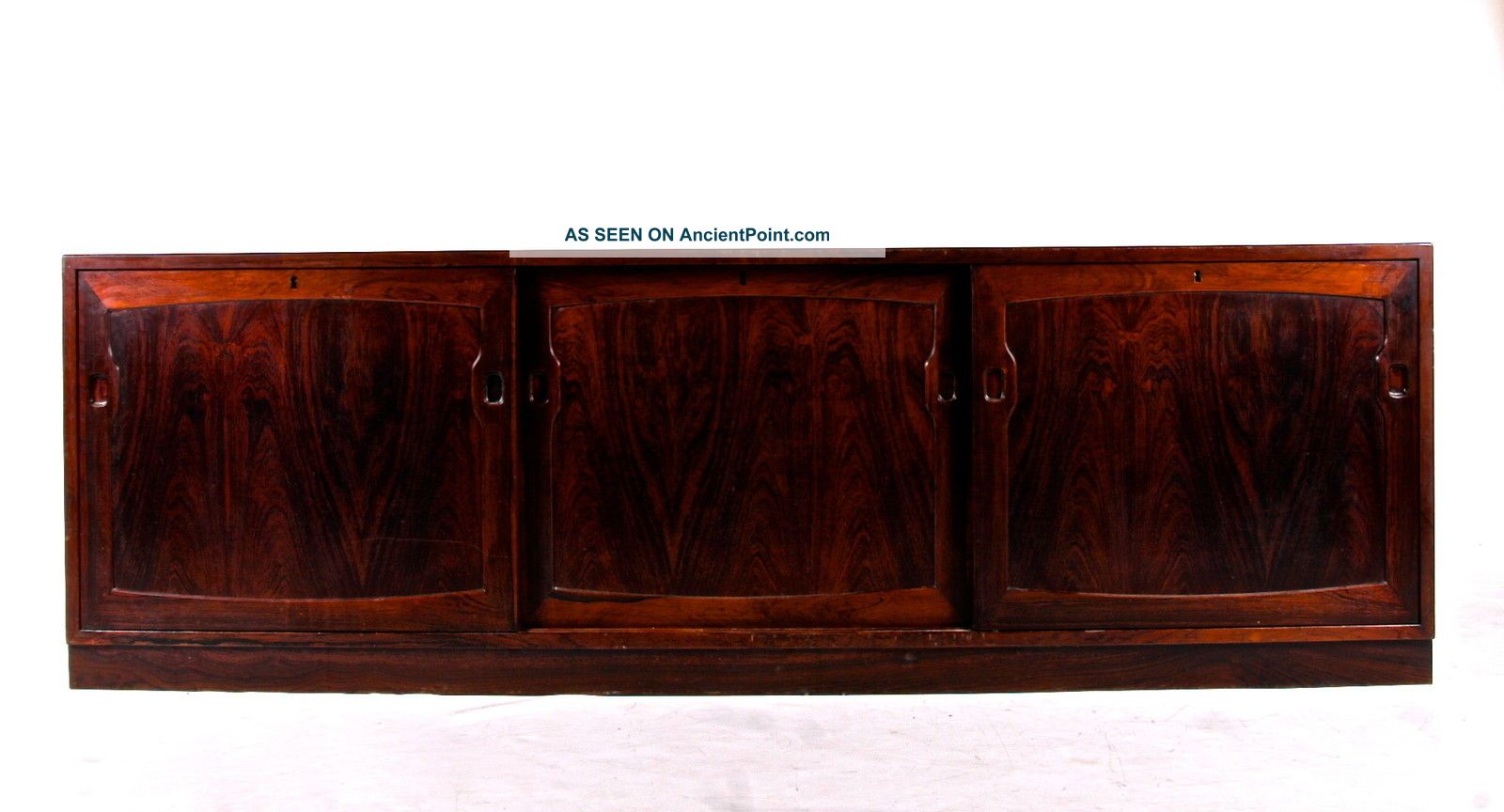 Retro Vintage Danish Rosewood Sideboard Low Record Tv Cabinet 60s 70s 1900-1950 photo