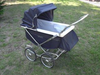 Neat & 1950s Storkline Collapsible Baby Carriage - Pram - Buggy Look photo