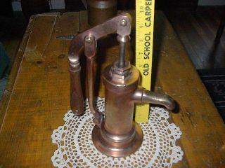 Antique Sands Marine Copper Hand Water Pump (heavy) photo
