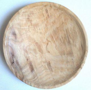 Artisan Wooden Bowl Ron Durr Ash Wood Art Handmade 5 3/8