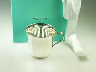 Authentic Tiffany & Co Sterling Silver 925 Baby Cup No Mono photo