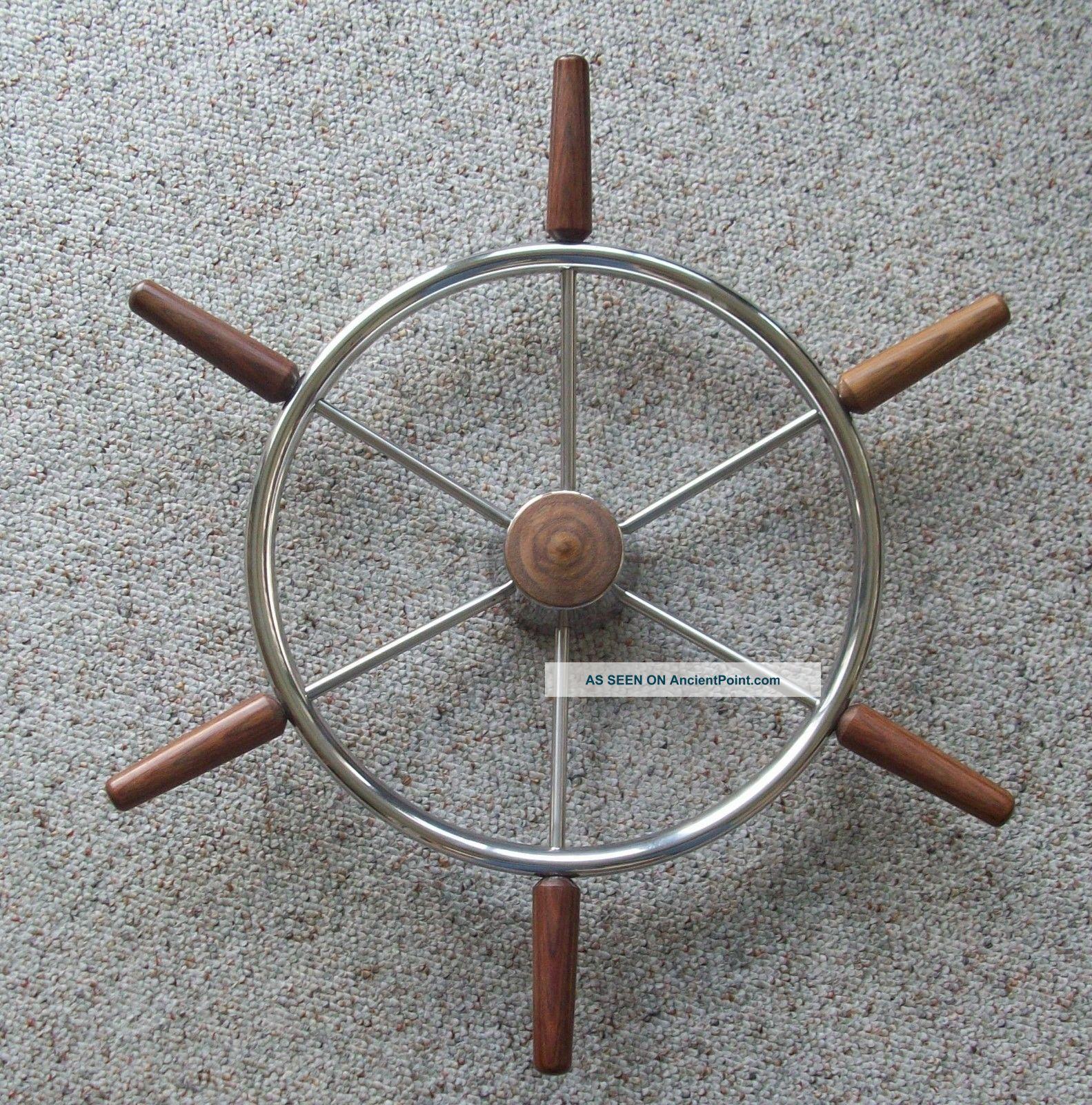 Vintage Boat Steering Wheel 23 1/2