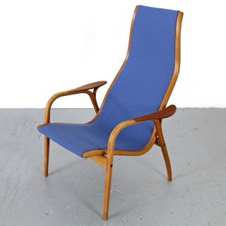 Oak & Teak Lounge Chair Lamino By Yngve Ekström - Swedese | Danish Modern Sessel photo