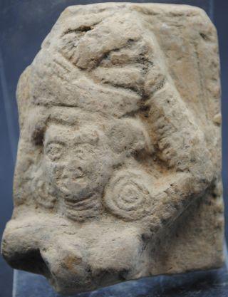 Ancient Gandharan Buddhist Pottery Shard. photo