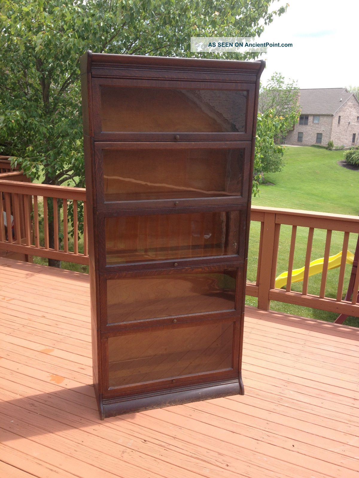 Antique Gunn Barrister Stackable Bookcase