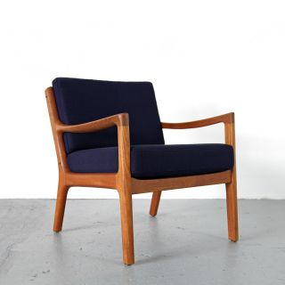 Modern Easy Chair By Ole Wanscher For Cado Denmark 60s | Danish Teak Sessel 60er photo