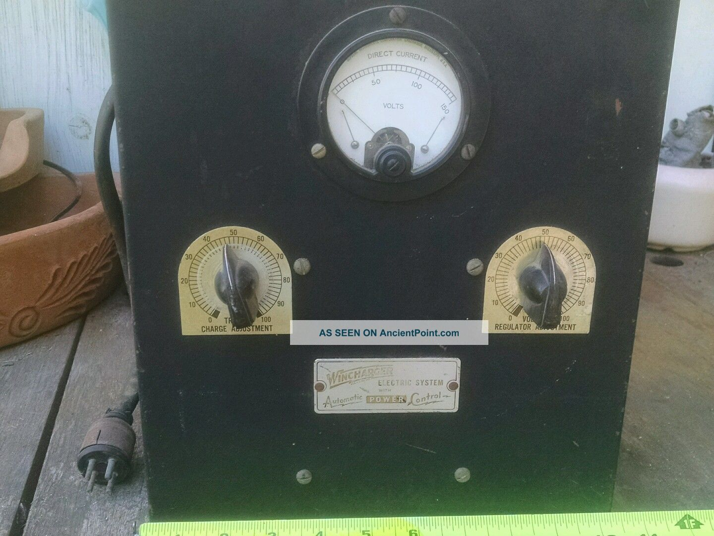 Windcharger Power Control Box Other Antique Home & Hearth photo