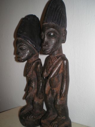 Antique Yoruba Ekiti Ibeji Figures photo