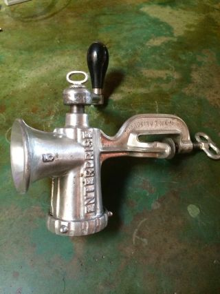 Enterprise 5 Meat Grinder.  Professionally Serviced photo