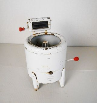 Vintage 1940s Toy Wringer Washing Machine D photo