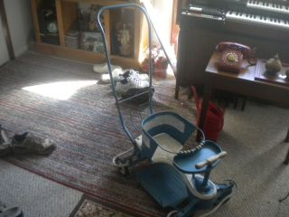1940 ' S & 50 ' S Vintage Taylor Tot Baby Stroller By Decco W/t Handle,  See Details. photo