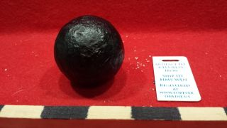 1lb Grape Shot - Cannon Ball.  Grade 1 Hms Winchester 1695 Shipwreck Artifact 433 photo