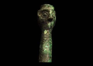 Aphrodite - Ancient Luristan Janus Idol Finial photo