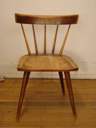 Vintage 1950s Paul Mccobb Chair Planner Group Mid Century Modern photo
