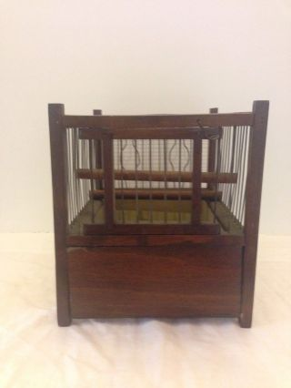 Antique Coal Miners Canary Cage photo
