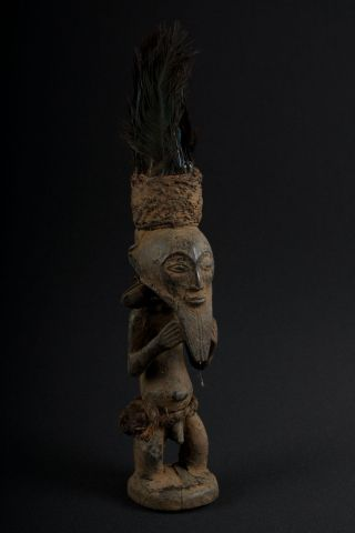 Kusu Statuette Figure Congo (drc/rdc) Galerie