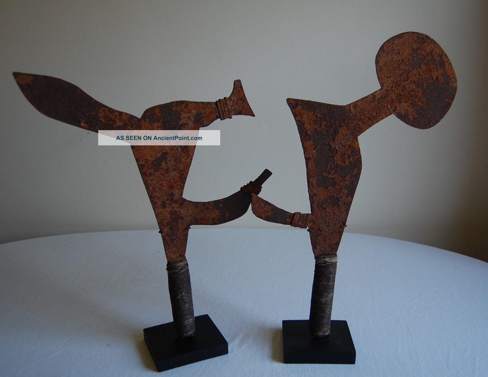Abstract Ceremonial Blades - Konkomba Sculptures & Statues photo