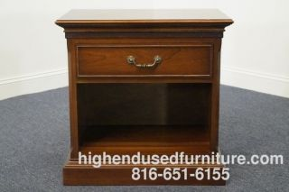 Ethan Allen Georgian Court Solid Cherry Nightstand 11 - 5116 Sheffield Finish photo