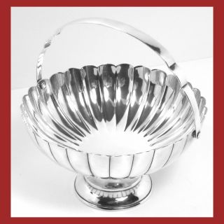 Sterling Silver Basket (5.  79 Troy Oz. ) photo
