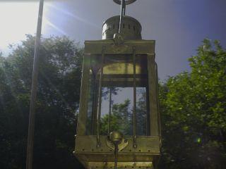 Vintage 1939 Great Britain Cargo Light No 3954 Nautical Brass (no Lamp) photo