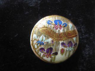 Meiji Satsuma Single Button - Pre 1900 - 22mmdiam photo