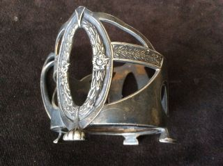 Wmf Art Nouveau Secession Tea Glass Holder 1900 - Mark Model 116 photo