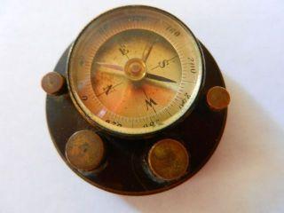 Vintage E.  S.  Greeley Pocket Compass Rare photo