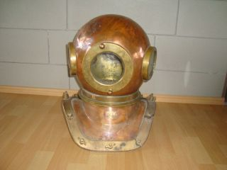 Rare 12 - Bolt Diving Helmet Made In Ussr/ 1965 photo