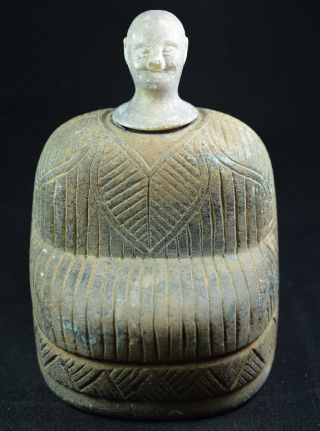Ancient Rare Bactrian Aryan Hand Craved Statue Figurine Bronze 2000bc 14 photo