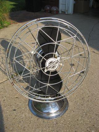 Chrome Fresh ' Nd - Aire Fan,  1950 ' S Antique photo