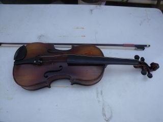 Antique 4/4 German Violin photo