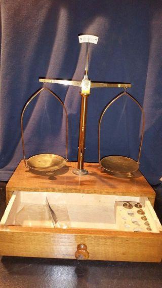 Vintage Portable Cambosco Co Balance Scale photo