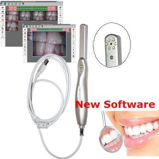 Dental Intraoral Intra Oral Camera Usb 4 Mp Led Cmos Sensor Cd Software Kit photo