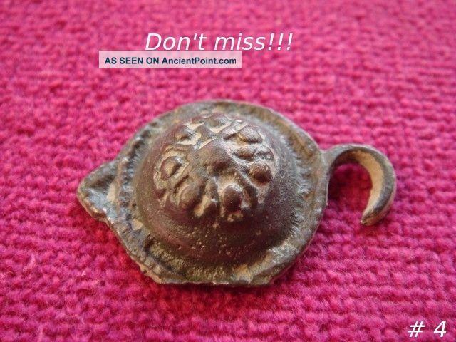 Byzantine Bronze Buckle 6th - 9th Century Ad 4 Byzantine photo