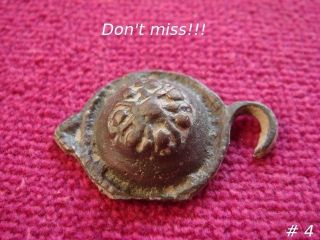 Byzantine Bronze Buckle 6th - 9th Century Ad 4 photo