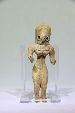 Ancient Near Eastern Indus Valley Mehgarh Fertility Idol 3000 Bc photo
