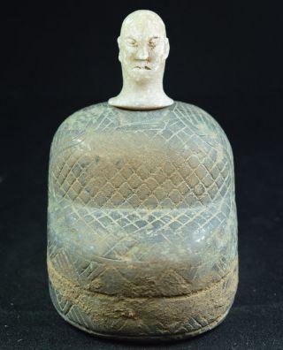 Ancient Rare Bactrian Aryan Hand Craved Statue Figurine Bronze 2000bc 17 photo