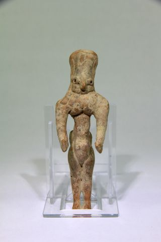 Rare Ancient Near Eastern Indus Valley Mehgarh Fertility Idol 3000 Bc photo