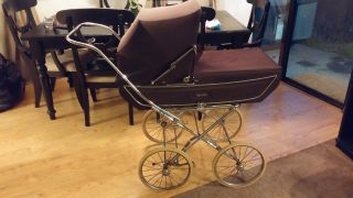 Vintage Marmet Baby Carriage - Pram - - Stroller - Made In England photo